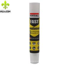 2017 novo estilo 150g medicina óleo tubo de embalagem de plástico com agulha longa
