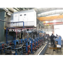 línea de producción de tubos de acero de costura recta
