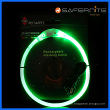 Led Bright Safety Dog Collar For Night Walks