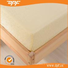 100% algodão egípcio Dobby cabido folha conjuntos (DPF201510)