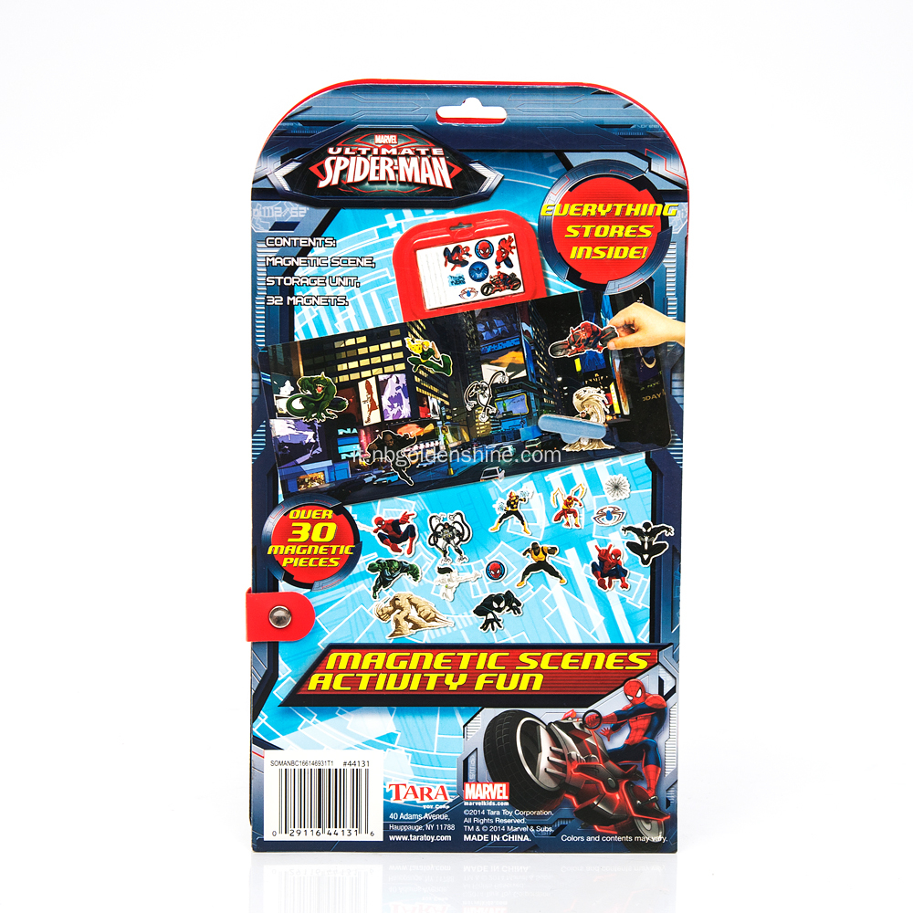 Spiderman Magnetic Activity Fun