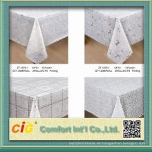 54 '' Pringting PVC Tisch Tuch Lace Cover in Roll