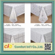 54 '' Pringting PVC en tissu en laine en coton en rouleau