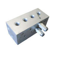 High Precision Hydraulic Valve Manifold by CNC
