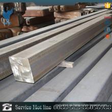 GB13296 decapado y pulido AISI316L diámetro 15mm * 15mm barra cuadrada de acero inoxidable