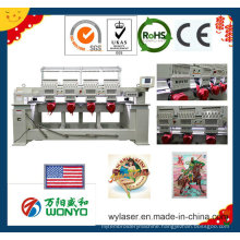 4 Heads Computerized Embroidery Machine Specially for Hat/Garment/Flat Embroidery Wy904c/1204c/1504c