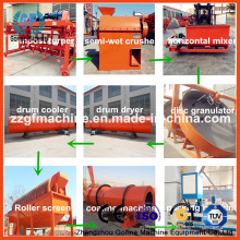 Línea de Producción de Granulación de Fertilizantes