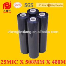 black stretch film for hand stretch film and stretch wrap