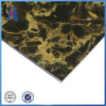 Painel composto de alumínio ACP de mármore
