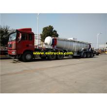 19m3 21ton Schwefelsäure Lieferwagen Anhänger