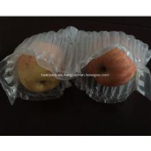 Embalaje de la columna de aire del cojín para dos manzanas