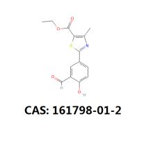 Good Quality for Febuxostat 4-Hydroxy Ethyl Ester Febuxostat intermediate cas 161798-01-2 export to Montserrat Suppliers