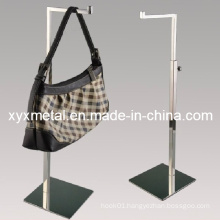 Mirror Polished Stainless Steel Bag Holding Metal Display Stand