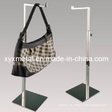 Espelho de aço inoxidável polido com suporte de exibição de metal
