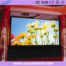Pleine couleur visuelle du mur P6 de grand LED fixée pour la publicité