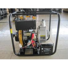 CE 10HP pompe à eau diesel portable silencieuse 4 pouces WH40DP