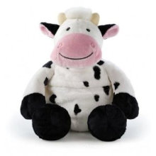 Plush Cartoon Farm Cow Toy