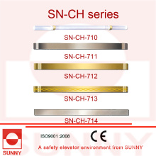 Elevator Cabin Handrail with Various Kind of Size (SN-CH-710)