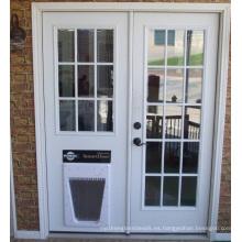Vidrio de puerta interior, paneles decorativos claros de la cerca para el hogar