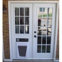 Межкомнатные двери стеклянные, ясные декоративные панели забора для дома