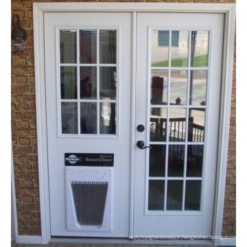 Verre intérieur de porte, panneaux décoratifs clairs de barrière pour la maison