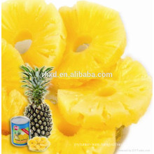 cannned pineapple slice in syrup/canned fruit