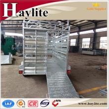 farm trailer livestock animal trailer cattle trailer new design