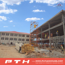 2015 Pth Customized Design Große Spannweite Stahlstruktur Lager
