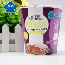Spicy Beef Flavor Instant Noodles Konjac Angel Hair