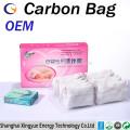 Bolsa de fibra de carbono ativada por absorção de coco de absorção de fformaldeído