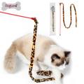 Gato dangler gato teaser dançarino com sino de hot rod pvc pet brinquedo cat vara
