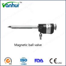 Trole de esfera magnética reutilizável Trocar