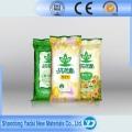 Hochwertige PP gewebte Tasche für Samen mit farbigen