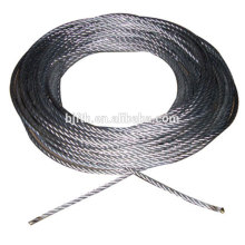 steel rope cable 9.1mm for platform 120m in stock