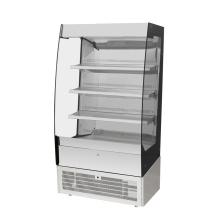 escaparate de refrigerador de pastel comercial de nevera de alta calidad