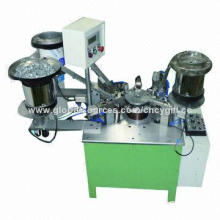 Zipper Slider Assembling Machine, Zipper Head Making Easily with Adjusted by Frequency Conversion