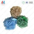 Dark color style silk mesh bath ball
