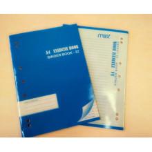 Livro de exercícios da Soft Cover Livro de diários do estudante