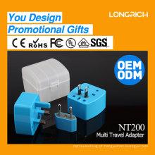 LongRich novo chegada presente produto adaptador de viagem plug scoket com alta qualidade (NT200)