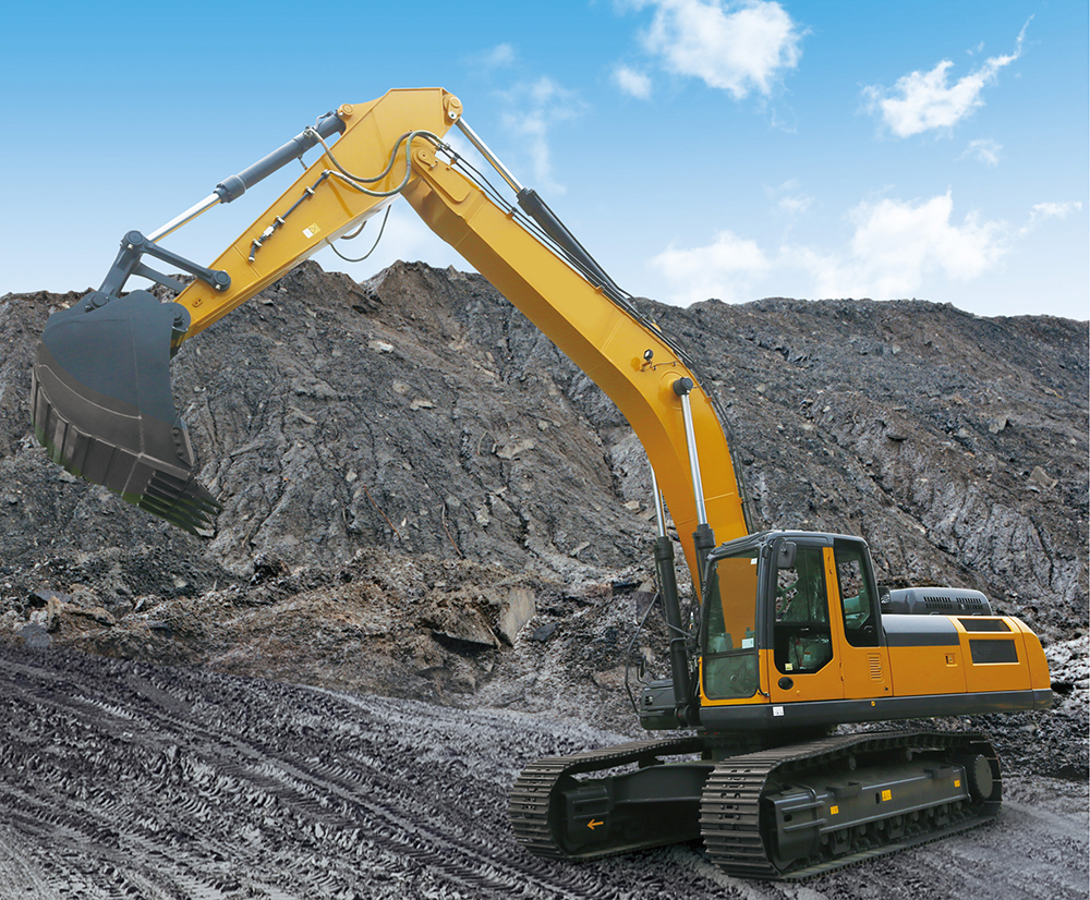 Large Excavators for Construction Machinery
