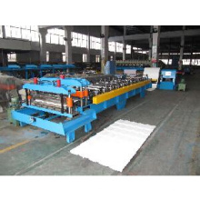 Stahl Fliesen Rollenformmaschine (Einzelform)