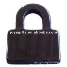 Hematite Lock Pendants