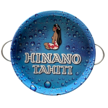 Tinplate round tray for party