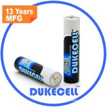 AAA Lr03 1.5V bateria alcalina para escova de dentes elétrica