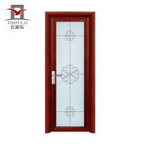 Сделано в Китае Высококачественный европейский стиль Интерьер ПВХ двери для ванной комнаты