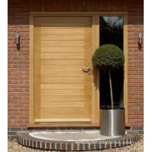 Honey Wheat Painted Lover Alder Front Exterior Solid Wood Doors