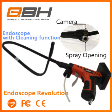 Power pump electric hand pressure sprayer with borescope