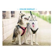 Проводки Собаки Любимчика Регулируемый Жилет Открытый Пэт Упряжь