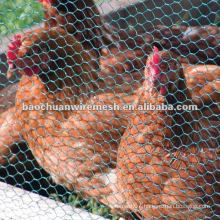 Green pvc coated metal aviaries fence for raising animals