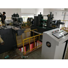 Precision metal coil slitting machine